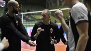 Владимир Орлов: Показахме борбеност срещу шампиона, но третият гейм бе решаващ