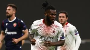 Безличен Милан отърва кожата, Звезда отново завърши мача в намален състав (видео)