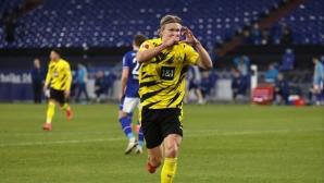 Спортният директор на Борусия отговори на Мино Райола за Холанд