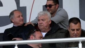"""Зико разгледа и стадион """"Локомотив"""", Зума се закани да даде интервю за забавянето на строежа"""