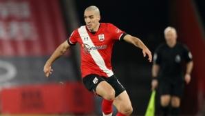 Саутхамптън загуби полузащитник до края на сезона