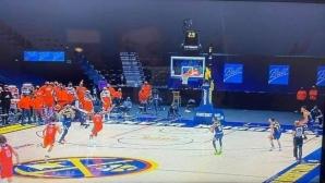 Модерният баскетбол в едно отиграване (видео)
