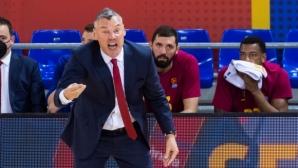 Треньорът на Барса разкритикува играчите си след сензационната загуба
