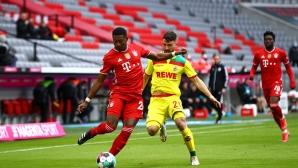 Петзвезден Байерн не пощади Кьолн, баварците с 9 гола в два мача