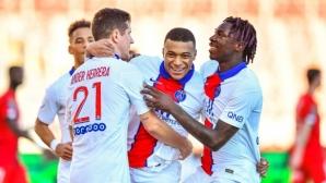 ПСЖ се развихри срещу най-слабия отбор във Франция