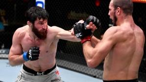 Магомед Анкалаев победи Никита Крилов на UFC Fight Night 186 (видео + снимки)