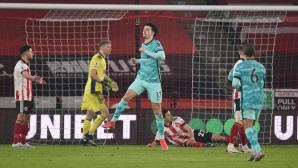 Шефилд Юнайтед 0:0 Ливърпул, гледайте тук!