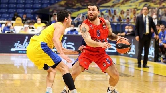 ЦСКА (М) се справи с тежкото си гостуване в Израел