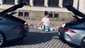 Катрин Тасева: Направих го, дори по дънки (видео)