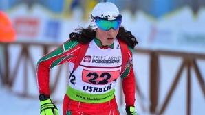 Валентина Димитрова се класира 11-та в спринта на Световното