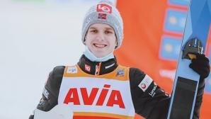 Халвор Гранеруд спечели предсрочно Световната купа по ски скок