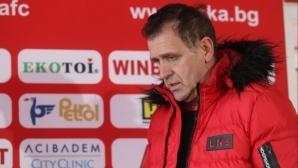 Акрапович говори за мача с Локо (Пд) в петък