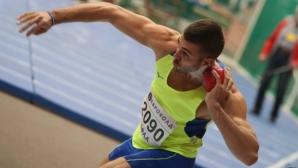 Васил Власов спечели четвърта поредна национална титла в седмобоя при мъжете
