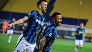 Интер увеличи на 6 точки аванса си пред Милан (видео)