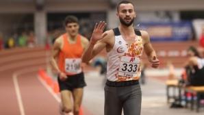 Митко Ценов подобри рекорда си и излезе на второ място във вечната ранглиста на България на 1500 м