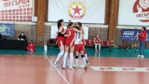 Волейболистките на ЦСКА взеха реванш от ДКС (Варна) (снимки)