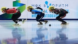 Маноилова се класира на 14-о място на 1500 метра и на 26-о място на 500 метра на Световното