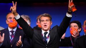 Лапорта печели категорично изборите в Барселона