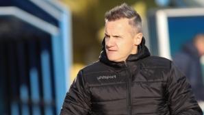 Валентич доволен: Не се уплашихме от Левски на неговия терен