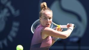 Кузнецова се пребори с китайка и си гарантира дуел със Свитолина във втория кръг в Дубай