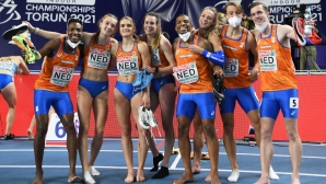 Нидерландия е №1 в щафетите на 4 по 400 м в Торун