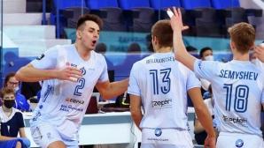 Цветан Соколов и Динамо (Москва) спечелиха редовния сезон в Русия (видео)