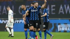 Интер продължава с рядко срещан шампионски график