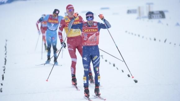 """Федерико Пелегрино спечели първия старт от """"Тур дьо ски"""""""