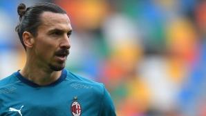 От Ибрахимович зависи дали ще играе на Евро 2020