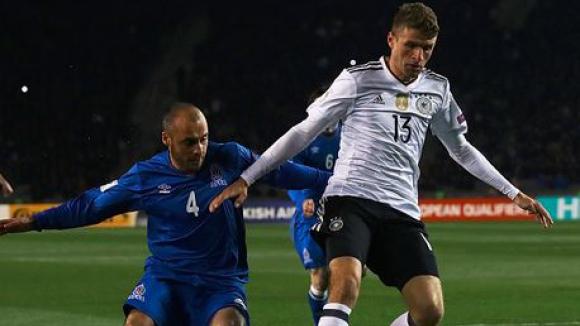 Азербайджан - Германия 1:4