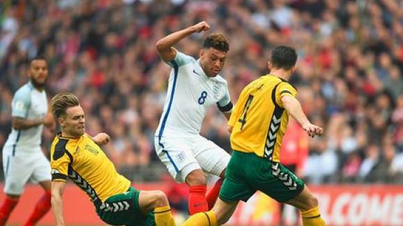 Англия - Литва 2:0
