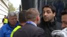 Журналист и фен се сдърпаха пред националния стадион след мача