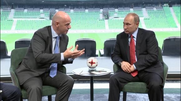 Путин и Инфантино обсъдиха Световното първенство