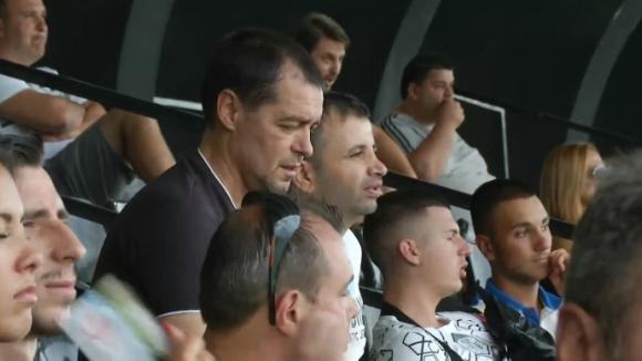 Венци Стефанов и Петър Хубчев гледат Славия - Ботев (Пд)