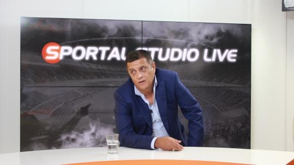 """Стойне Манолов гостува в специално издание на """"Sportal Studio Live"""""""