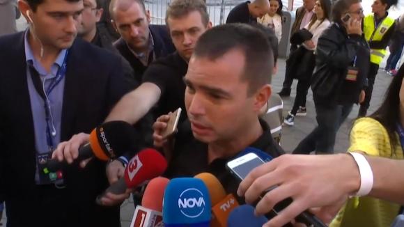 Шефът на полицията: Задържахме 39 човека преди началото на мача