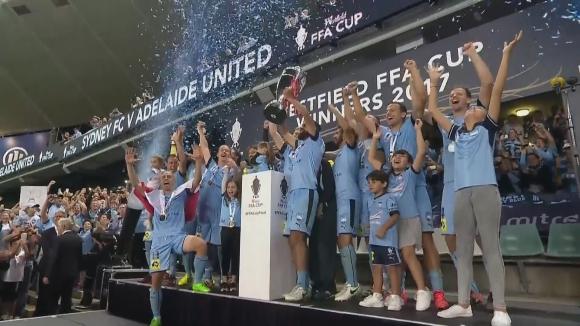 Меле между играчите във финала за Купата на Австралия