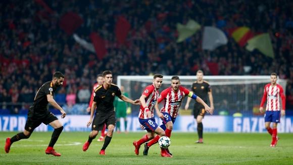 Атлетико Мадрид - Рома 2:0