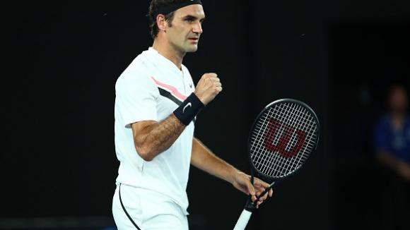 Чиста победа и място в третия кръг за Федерер