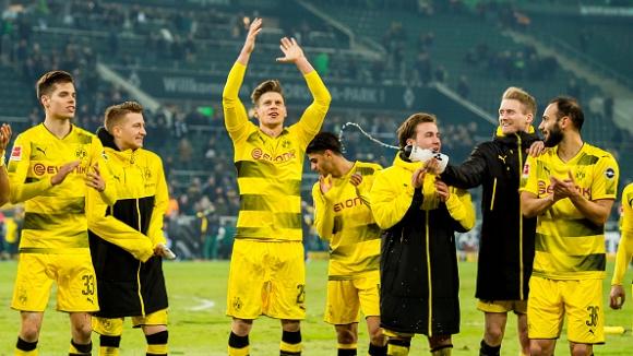 Борусия Дортмунд постигна трудна победа над Мьонхенгладбах