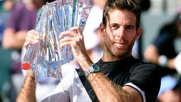Дел Потро победи Федерер и спечели турнира в Индиън Уелс