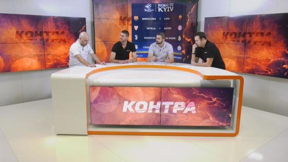 """Футболна дискусия в предаването """"Контра"""""""