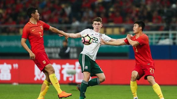 Китай - Уелс 0:6