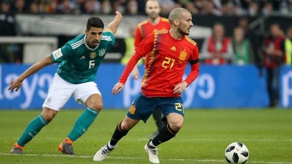 Германия и Испания сътвориха зрелище