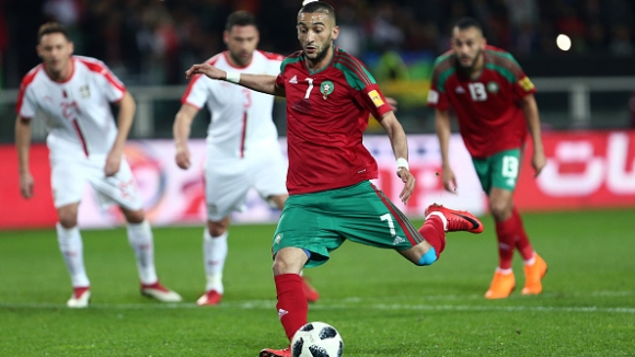 """Сърбия разочарова срещу Мароко на """"Олимпико"""""""