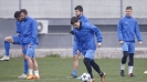 Левски тренира преди мача с ЦСКА-София