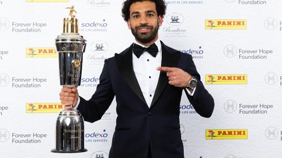Салах очаквано стана играч на годината в Англия