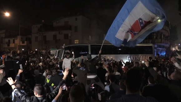 Еуфория в Неапол! Градът осъмна в празненства след победата над Ювентус