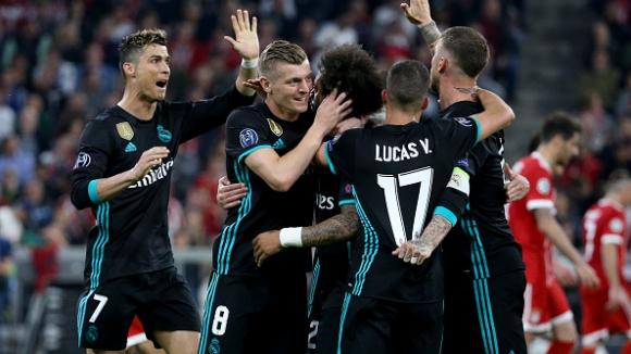 57' Байерн (Мюнхен) - Реал Мадрид 1:2