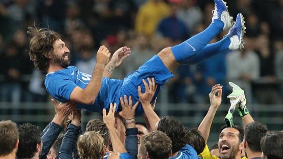 """Легендата Пирло се сбогува с футбола с грандиозно шоу на """"Сан Сиро"""""""